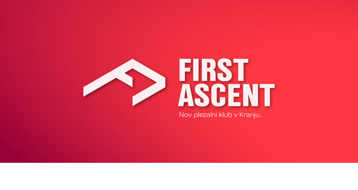 First ascent - FA naslovna