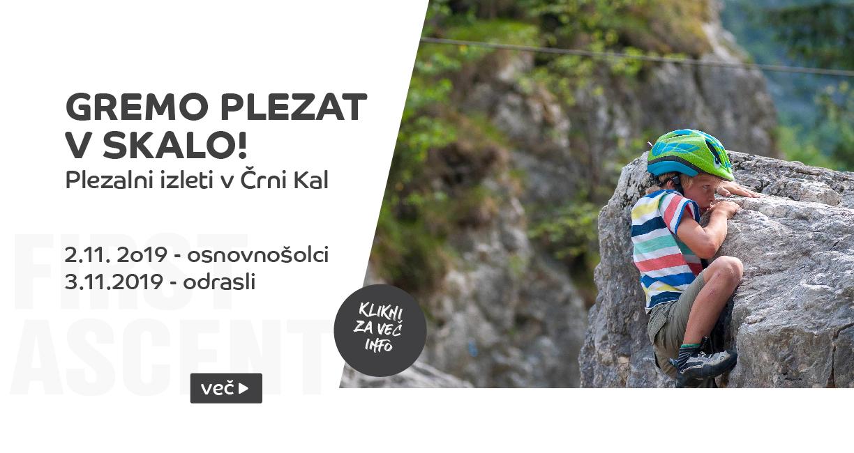 First ascent - Izlet_črni kal