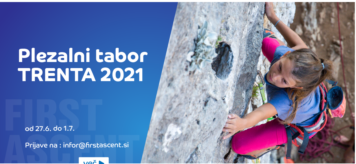 First ascent - Tabor Trenta 2021
