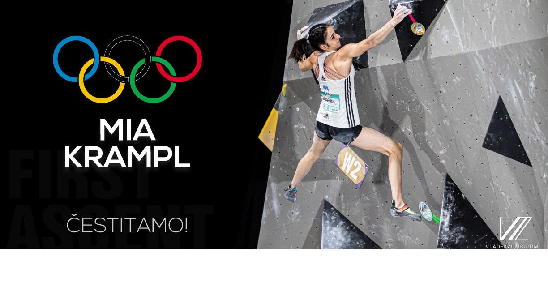 First ascent - Mia Krampl čestitka